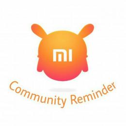 Telegram bot Mi Community Reminder — @checkreminderbot