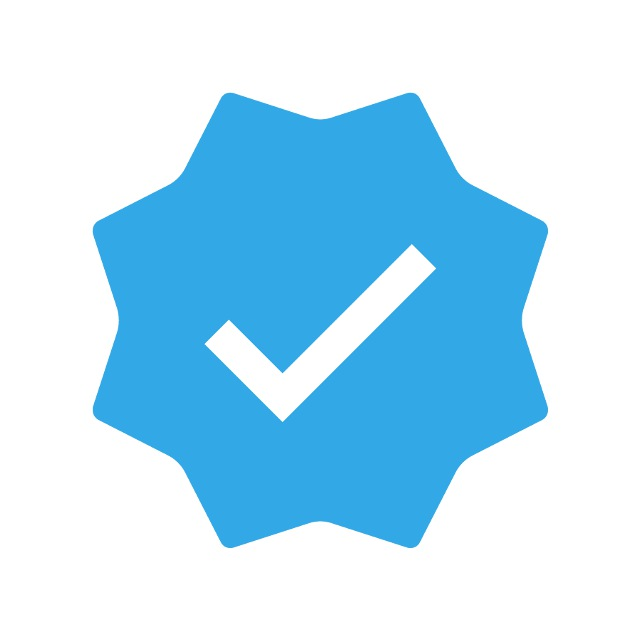 Best official chatbots verified with blue badges by Telegram