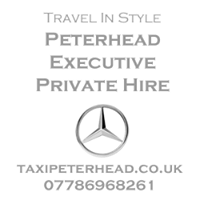 Peterhead Executive - airport transfers, weddings, corporate, intercity.