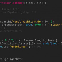 Syntax Highlight Bot