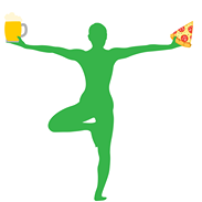 Pizza Beer Yoga